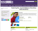 Exploring Size - Scented Balloons