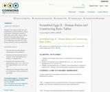 Scrambled Eggs II – Human Ratios and Constructing Ratio Tables