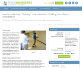 """Gaitway"" to Acceleration: Walking Your Way to Acceleration"