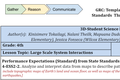Large Scale System Interactions - Grade 4