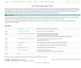 La Terminal de Unix