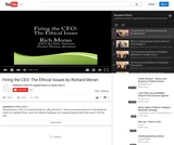 Firing the CEO: The Ethical Issues by Richard Moran