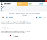 Required Software: Plug-ins and Other Requirements