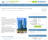 Tower Investigation and the Egg
