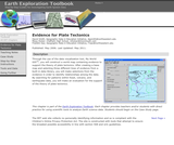 Earth Exploration Toolbook Chapter: Evidence for Plate Tectonics