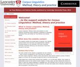 Corpus Linguistics: Method, theory and practice