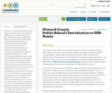 Howard County Public School's Introduction to OER - Remix