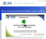 Growing Open Education in Michigan, Oregon, & California