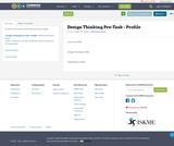 Design Thinking Pre-Task - Profile