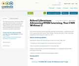 School Librarians Advancing STEM Learning, Year 3 NH Webinar 2