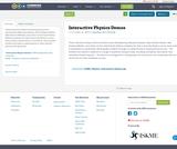 Interactive Physics Demos