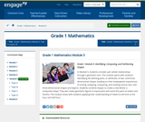 Grade 1 Module 5: Identifying, Composing, and Partitioning Shapes