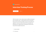 Rise 360: Interview Training Process