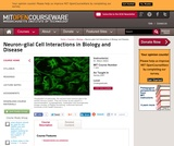 Neuron-glial Cell Interactions in Biology and Disease, Spring 2007