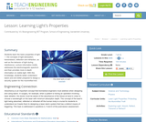 Learning Light's Properties
