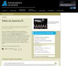 Ethics in America II