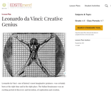 Leonardo da Vinci: Creative Genius