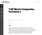Music Companies, Variation 1