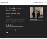 The Group Dynamics of a School Project