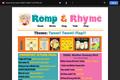 Romp & Rhyme Storytime Parent Activity Sheet: Tweet, Tweet! Flap!