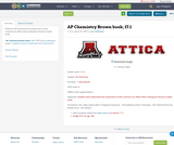 AP Chemistry Brown book, 17.1