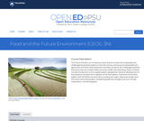 Food and the Future Environment
