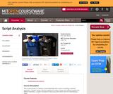 Script Analysis, Fall 2011