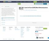 SOC 501 - Level of Care (LOC) Rate Determination Matrix 2.9.21