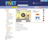 PhET Simulation: Energy Forms and Changes
