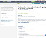 Traffic and Road Signs in Basic English: Preparing for the Driver's Test- Remix