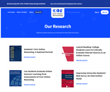 Civic Online Reasoning (Research and Articles)