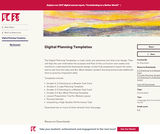 Digital Planning Templates
