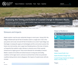 Assessing the Timing and Extent of Coastal Change in Western Alaska