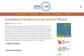 Foundations of Academic Success: Words of Wisdom   Open SUNY Textbooks