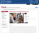 Managed Care and Health Insurance