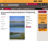 Environmental Engineering Masters of Engineering Project, Fall 2007