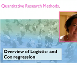 Overview of basic Logistic- and Cox regression (12:36)