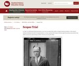 Reading Like a Historian: Scopes Trial