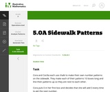 5.OA Sidewalk Patterns
