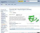Physical Organic Chemistry