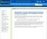 Finding the Empirical Formula from a Molecular Formula