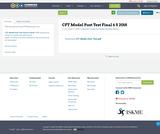 CFT Model Post Test Final  6 5 2018