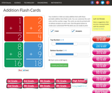 Addition Flash Card Maker