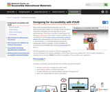 Designing for Accessiblity with POUR