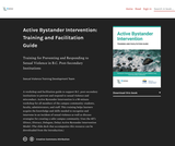 Active Bystander Intervention: Training and Facilitation Guide