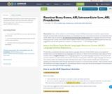 Emotion Story Game, ASL Intermediate-Low, ASL Foundation
