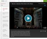 Bernini's Cathedra Petri  (Chair of St. Peter)