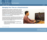 Managing Your Time as a Virtual Instructor