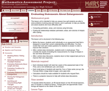 Evaluating Statements About Enlargements (2D and 3D)