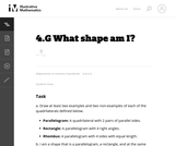 4.G What shape am I?